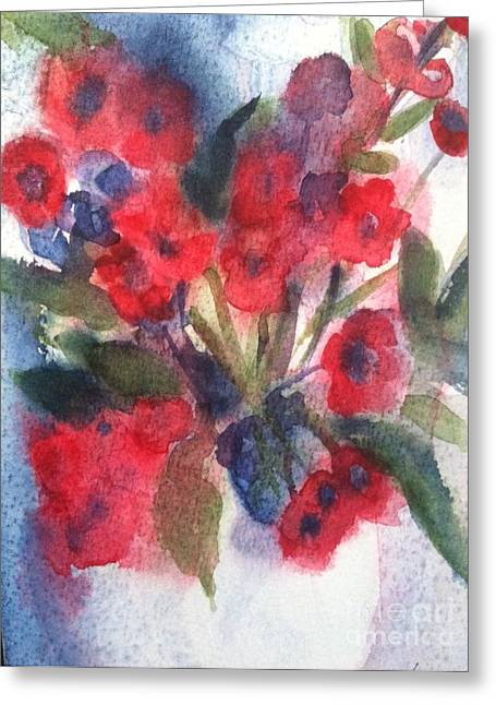 Wild Orchards Paintings Greeting Cards - Faded Memories Greeting Card by Sherry Harradence