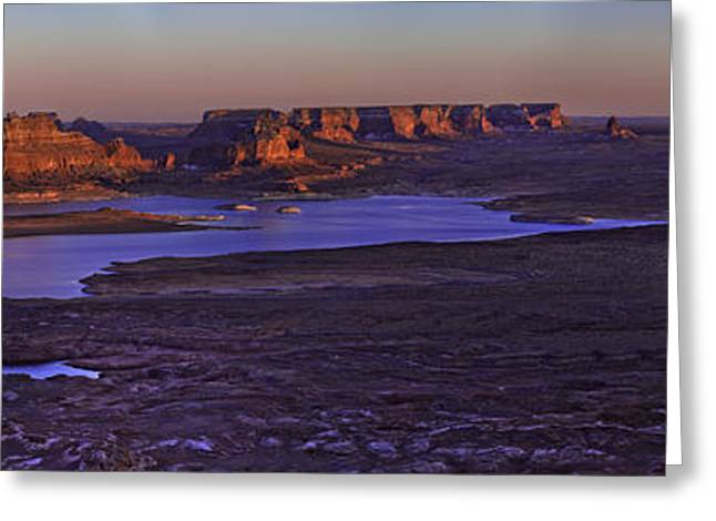 Vista Greeting Cards - Fading Light Greeting Card by Chad Dutson