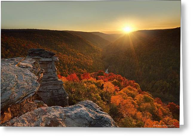 Lindy Greeting Cards - Fading Moments Greeting Card by Daniel Behm