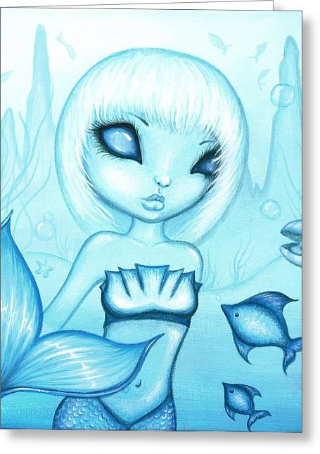 Fantasy Art Greeting Cards - Fae Colours 04 Greeting Card by Elaina  Wagner