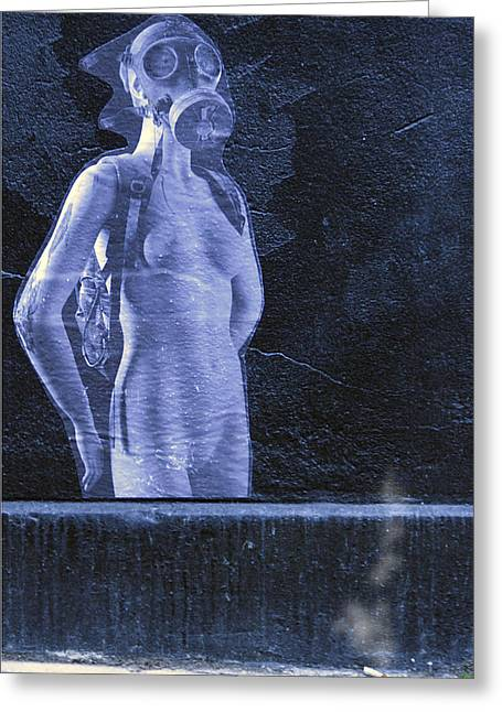 Naked Women Framed Prints Greeting Cards - Fagged Out Greeting Card by David Davies