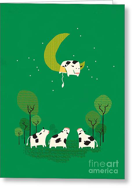 Cow Images Greeting Cards - Fail Greeting Card by Budi Satria Kwan