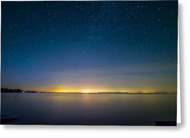 Twinkle Greeting Cards - Faint Milky Way Greeting Card by James Wheeler