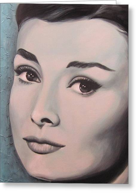 Starlet Paintings Greeting Cards - Fair Lady Greeting Card by Bruce McLachlan