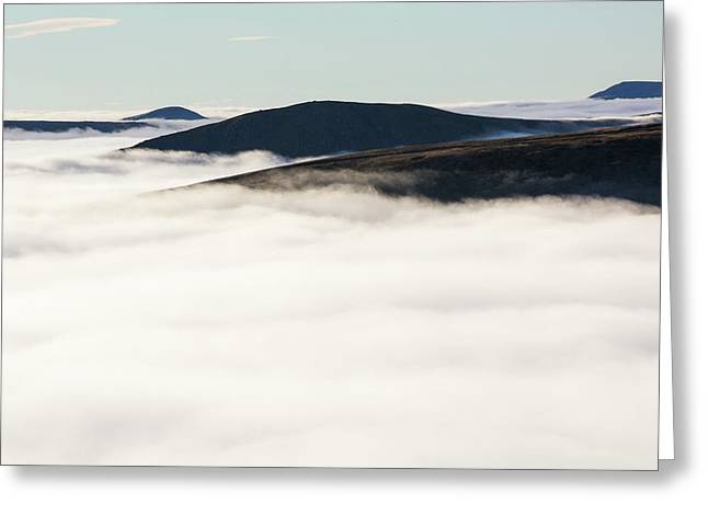 Fairfield From Red Screes Greeting Card by Ashley Cooper