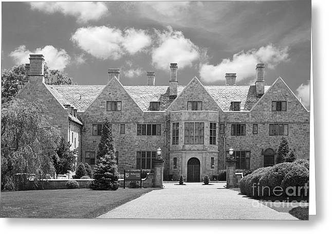 Occasion Greeting Cards - Fairfield University Bellarmine Hall Greeting Card by University Icons