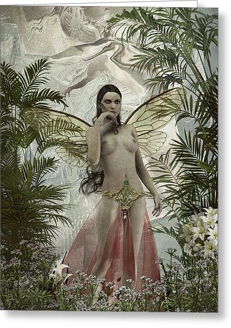 Dryads Greeting Cards - Fairy concubine Greeting Card by Joaquin Abella