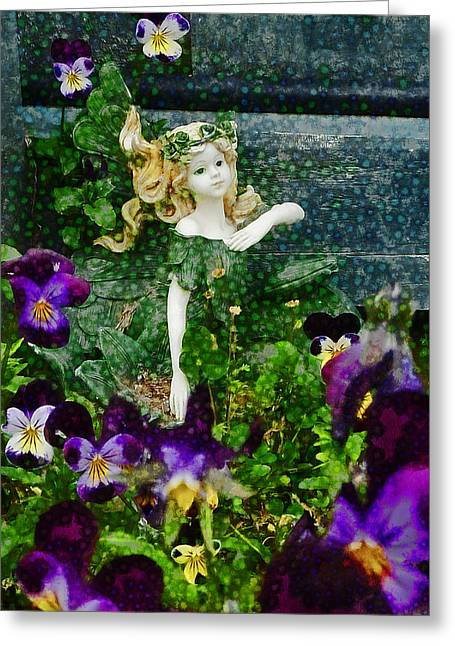 Tinker Bell Greeting Cards - Fairy Dust  Greeting Card by Steve Taylor