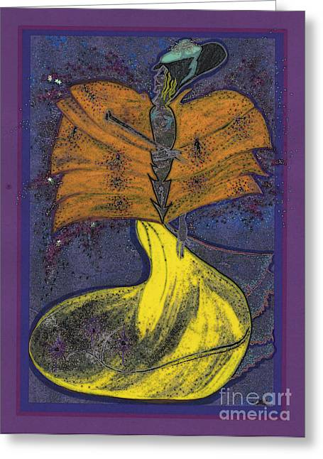 First Star Art Mixed Media Greeting Cards - Fairy Godmother by jrr Greeting Card by First Star Art