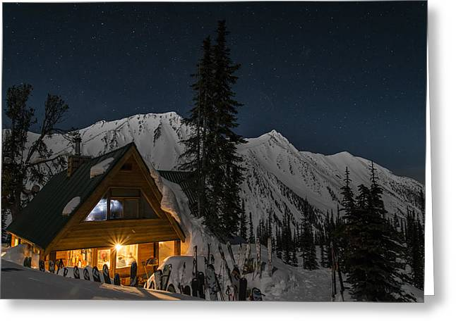 Moonscape Greeting Cards - Fairy Meadows Greeting Card by Ian Stotesbury