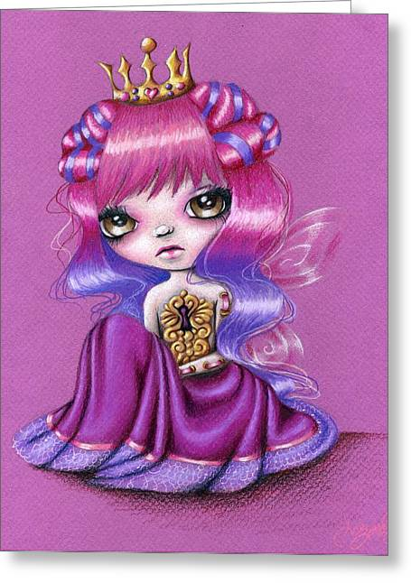 Fairy Princess Greeting Card by Sour Taffy