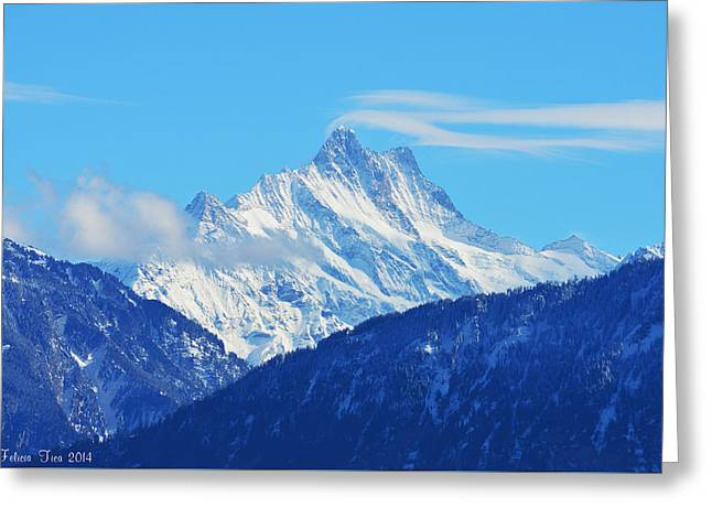 Fairy Tale In Alps Greeting Card by Felicia Tica