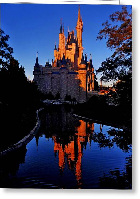 Cinderellas Castle Greeting Cards - Fairyland Greeting Card by Benjamin Yeager