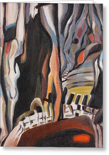 Great Mysteries Paintings Greeting Cards - Fairytale Forest 3 Greeting Card by Ivan Shikerov