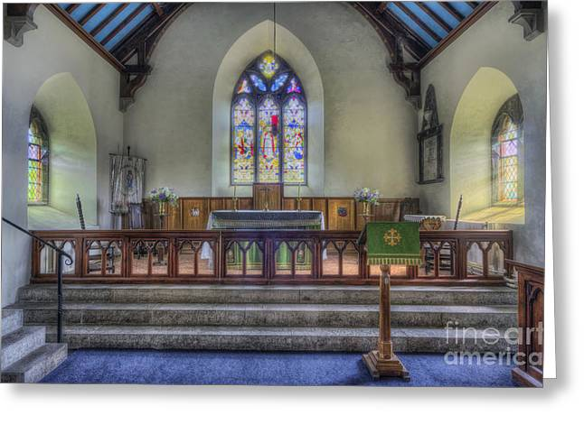 Religious Framed Prints Greeting Cards - Faith Is To Believe Greeting Card by Ian Mitchell