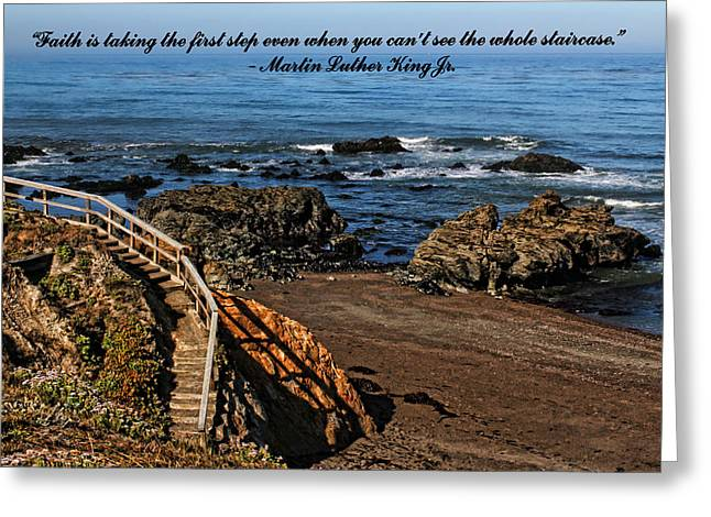 Cambria Greeting Cards - Faith Greeting Card by Judy Vincent