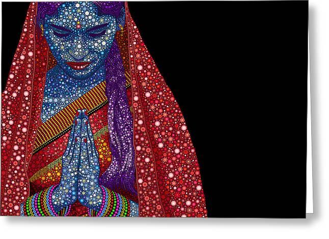 Namaste Greeting Cards - Faith Greeting Card by Tim Gainey