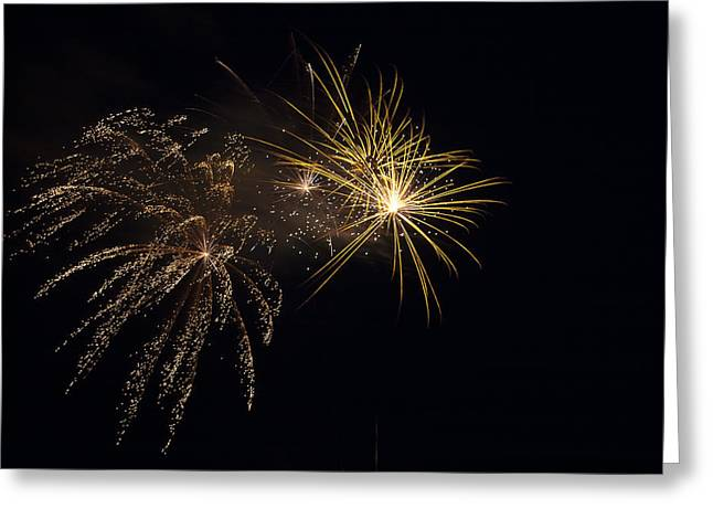Pyrotechnics Greeting Cards - Faithful  Greeting Card by Jack R Perry