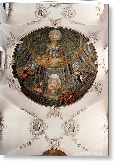 Barock Greeting Cards - Fake Dome Greeting Card by Brothers Beerens