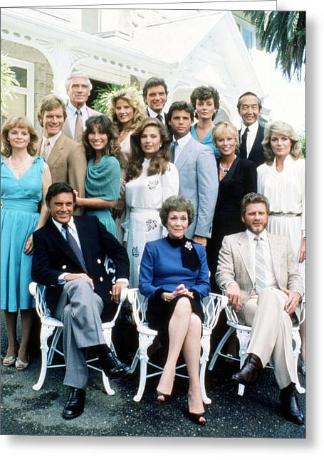 Falcon Crest  Greeting Card by Silver Screen