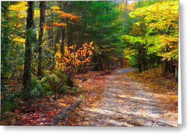 Fall Colors Greeting Cards - Fall - 489 Greeting Card by Glen River