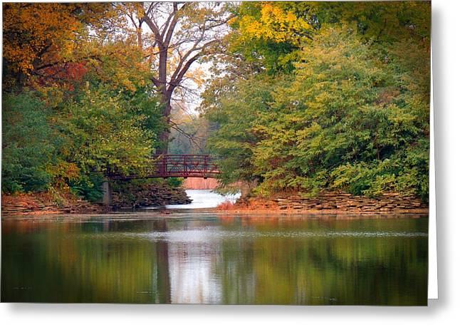 Herrick Lake Greeting Cards - Fall Adventure Greeting Card by Teresa Schomig