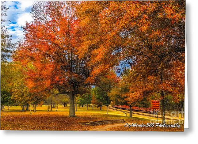 Fort Smith Arkansas Greeting Cards - Fall at the Fort Greeting Card by Larry McMahon