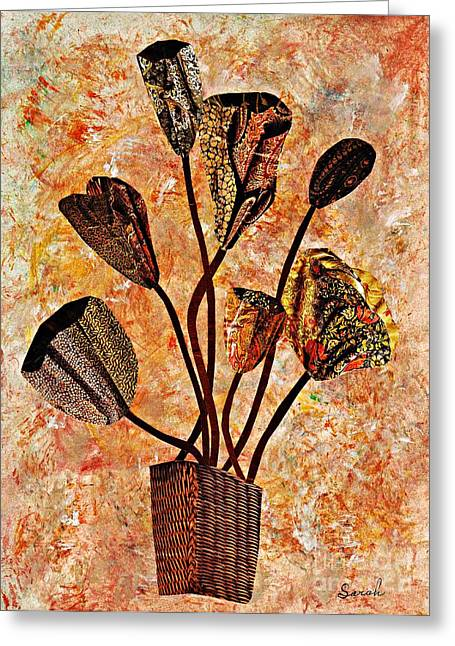 Sarah Loft Greeting Cards - Fall Bouquet Greeting Card by Sarah Loft