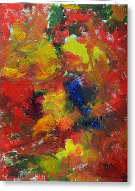Paul Lyndon Phillips Greeting Cards - Fall Color Abstract - c8911c Greeting Card by Paul Lyndon Phillips