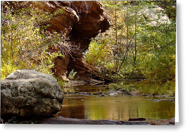 West Fork Greeting Cards - Fall Colors 6472-02 Greeting Card by En-Chuen Soo