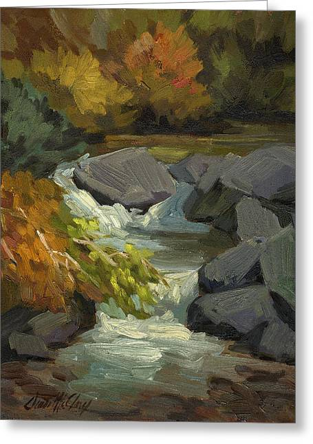 High Desert Greeting Cards - Fall Colors at Bishop Creek Greeting Card by Diane McClary