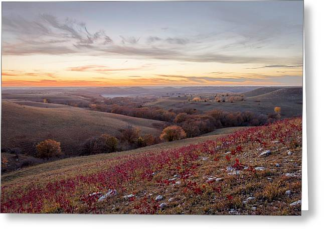 Pottawatomie Greeting Cards - Fall Colors Greeting Card by Scott Bean