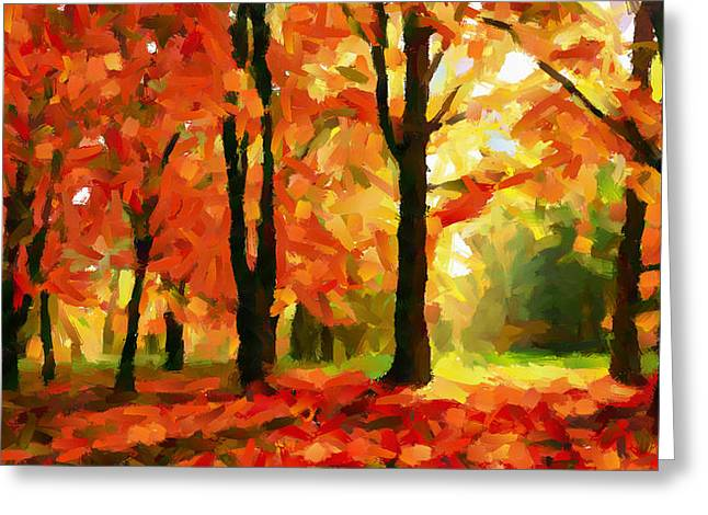 Vincent Dinovici Greeting Cards - Fall Colors TNM Greeting Card by Vincent DiNovici