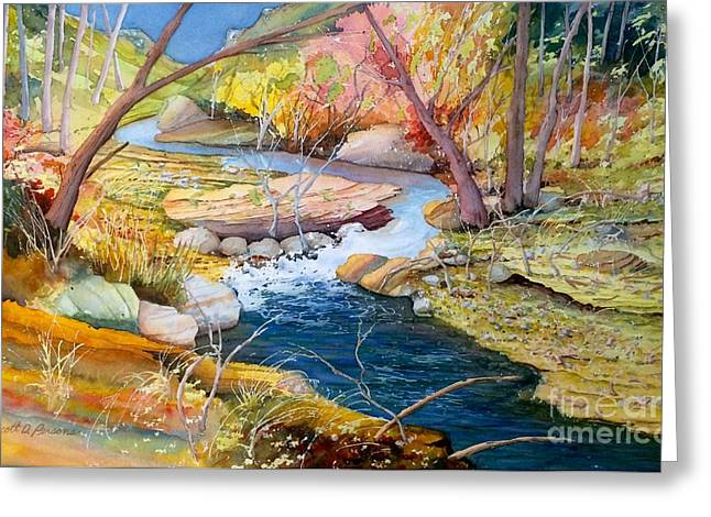 Fall Photos Paintings Greeting Cards - Fall day Greeting Card by Scott Persons
