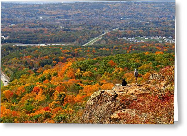 Fall From Castle Craig Greeting Card by Stephen Melcher