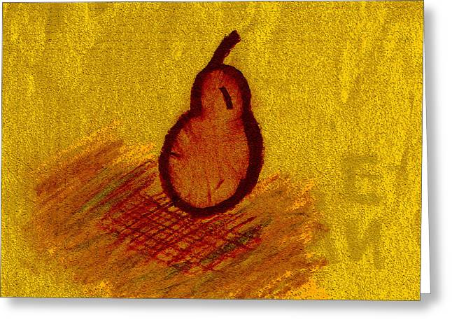 Seen Pastels Greeting Cards - Fall Fruit Greeting Card by Geilyn Espinosa