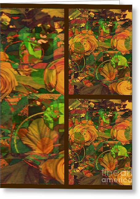 Harvest Time Greeting Cards - Fall Harvest Greeting Card by Cindy McClung