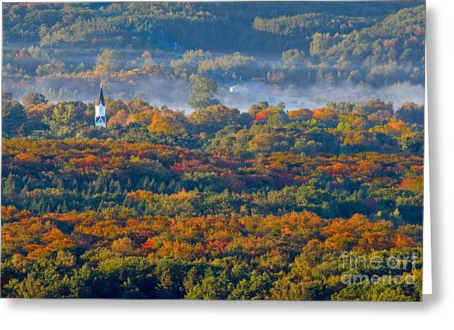 Arcadia Greeting Cards - Fall in Arcadia Greeting Card by Twenty Two North Photography