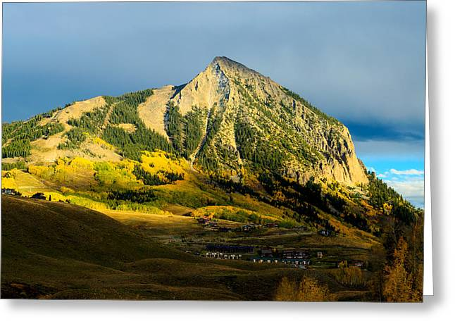 Mike Schmidt Photographs Greeting Cards - Fall in CB Greeting Card by Mike Schmidt