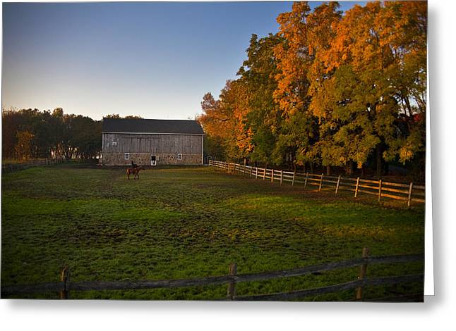 Wisconsin Barn Greeting Cards - Fall in Wisconsin Greeting Card by Jeff Klingler