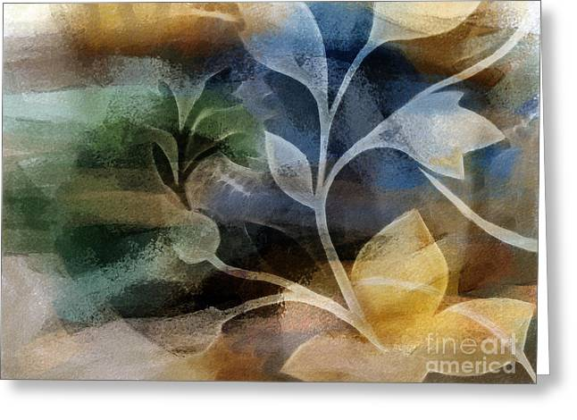 Autumn Prints Greeting Cards - Fall Greeting Card by Lutz Baar