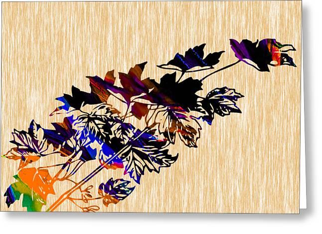 Autumn Photographs Mixed Media Greeting Cards - Fall Greeting Card by Marvin Blaine