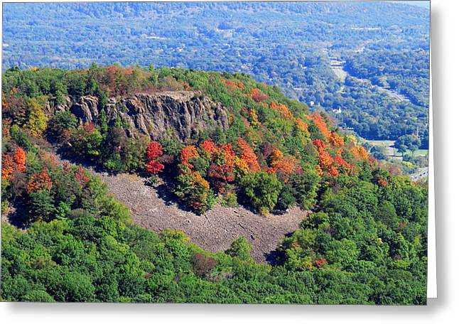 Fall On The Mountain Greeting Card by Stephen Melcher