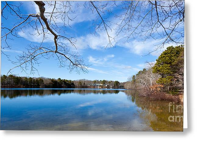 Fall Photographs Greeting Cards - Fall Reflections Greeting Card by Michelle Wiarda