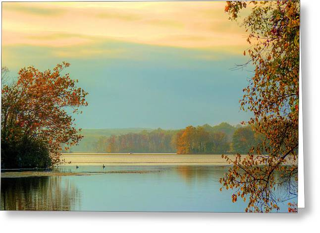 Autum Greeting Cards - Fall Serenity  Greeting Card by JC Findley