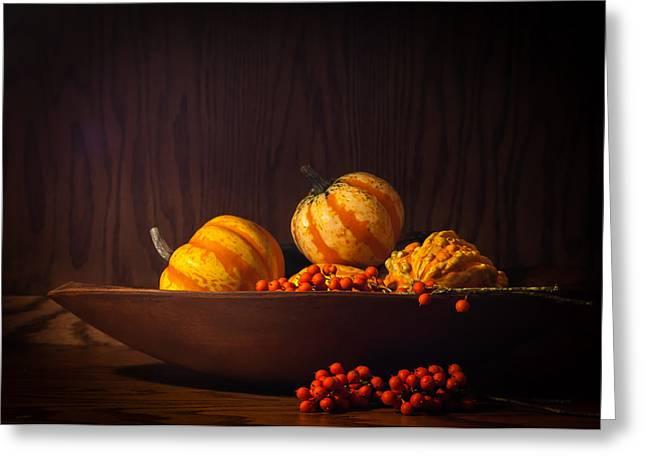 Fall Still Life Greeting Card by Wayne Meyer