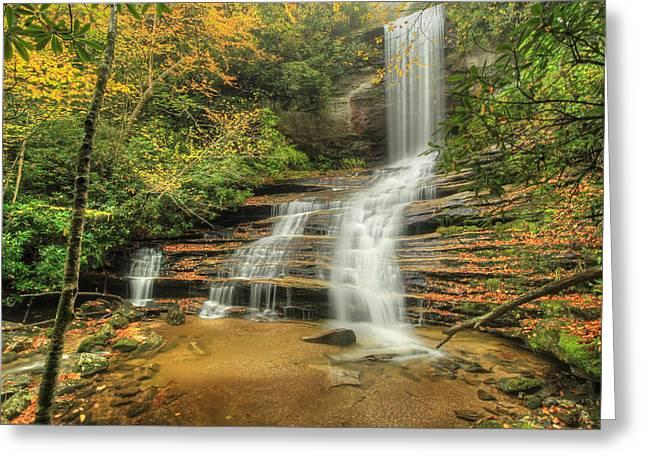 Fall Water Greeting Card by Doug McPherson
