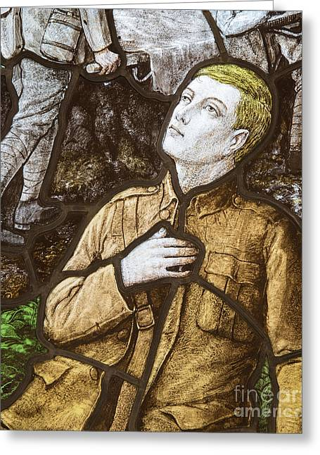 The North Greeting Cards - Fallen Hero Greeting Card by John Potter