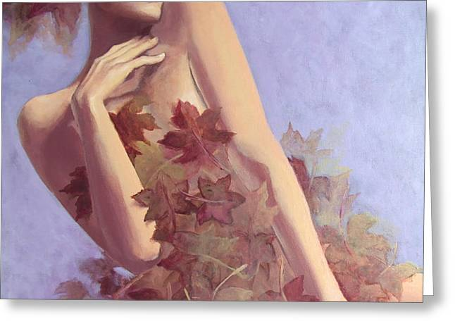 Fall...in love... Greeting Card by Dorina  Costras