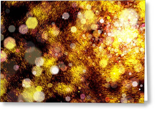 Effervescent Digital Greeting Cards - Falling Dew Greeting Card by Matt Lindley